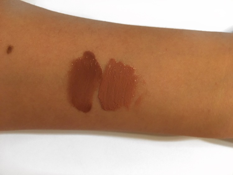 Kylie Swatches Rubbed